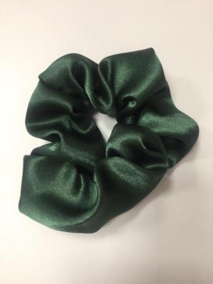 Scrunchie Haargummi Haar-Styling-Accessoire Grün glänzend