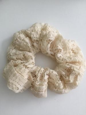 Scrunchie Haargummi Zopfgummi Haarband Vintage Spitze