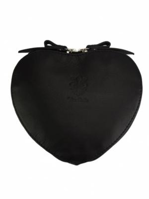 Herzförmige Umhängetasche Vera Pelle