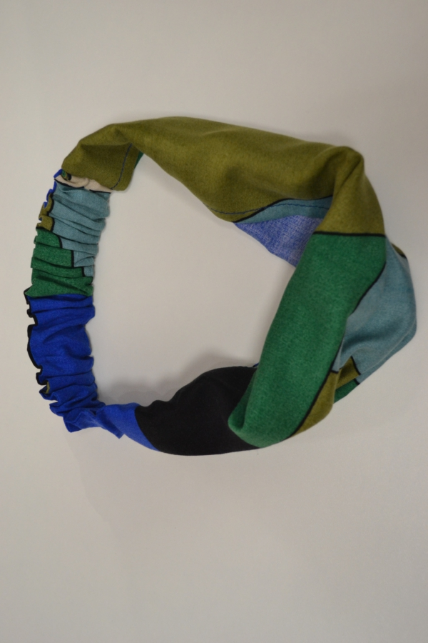 Multicolor Bandana Tuch Haarband