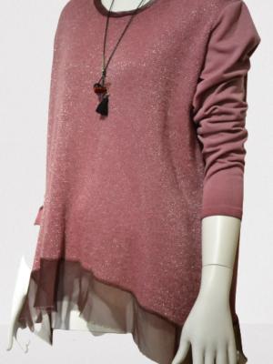 Lagenlook Damen-Pullover