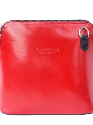 Florence kleine Umhängetasche in rot