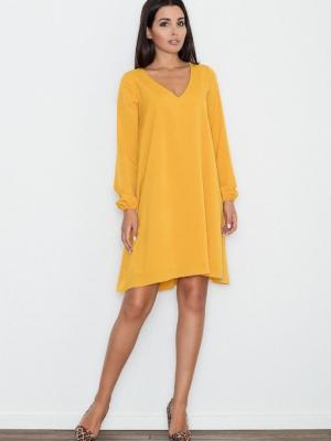 Alltagskleid in gelb