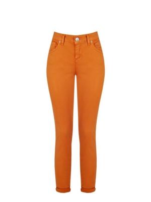 Hose Damen Rost Orange Rinascimento