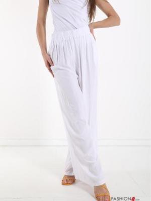 Damen Stoffhose in Weiß