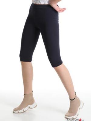 Italienische Mode Leggings - blau - Onesize