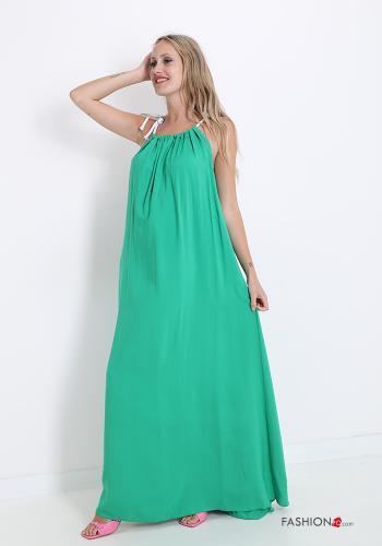 Italy Kleiderrock mit Schleife - Flaschengrün - onesize