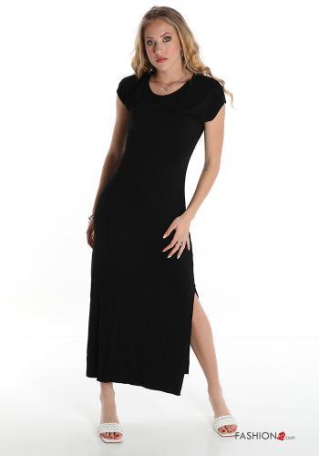 """Italy Kleid """"new look"""" in Schwarz"""