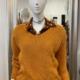 Oversize Pullover mit Strukturmuster