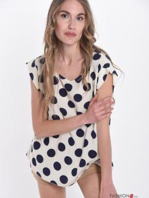 Tunika Bluse gepunktet - Polka Dots -