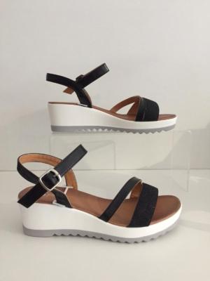 Platform-Sandalette