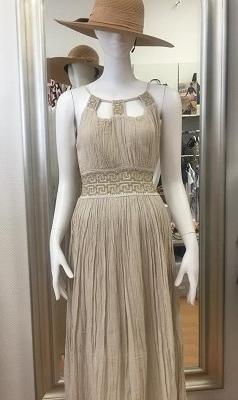 Kleid -griechisches Mäander-Muster