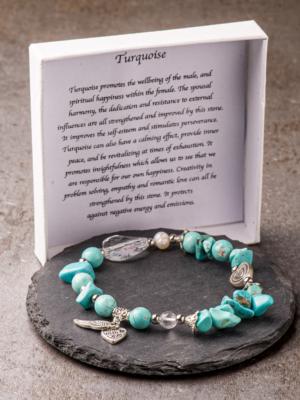 Armband mit Türkis-Stein